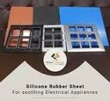 Hot Stamping Silicone Rubber Sheet With Alu.