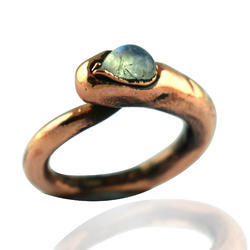 Moonstone Electroplated Rings