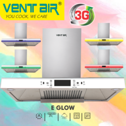 Ventair Kitchen Chimney E Glow