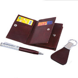 3 in 1 Set NDM Leather Gift