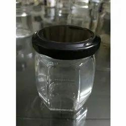 120 mL Crown Honey Glass Jar