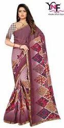 Super Look Vol 5 Weightless Border Printed Saree