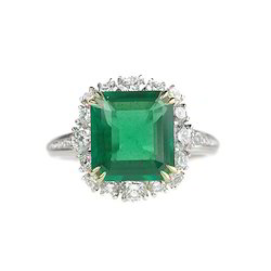 Diamond Emerald Rings