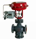Pneumatic Steam Three Way Control Valve