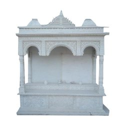 Handicraft Marble Temple Carving Service
