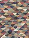 Traditional Floor Carpet Wool Jute Rug