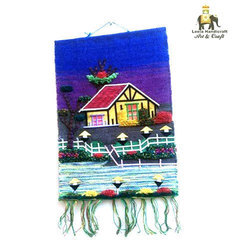 Leela Handicraft Multicolor Patchwork Wall Hanging