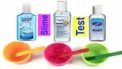 Hand Sanitizer Testing