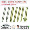 marble granite tools For cnc router machine use