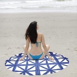 Round Beach Throw Tapestry