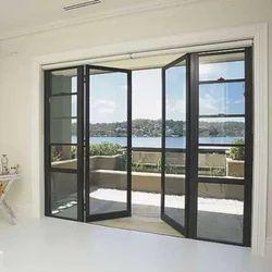 Designer Aluminium folding Door, 5mm. 6mm, 2mm,3mm