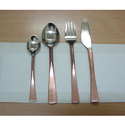 Stainless Steel Cutlery Set 4 Pcs Copper Pelting