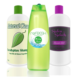 Shampoo Bottle Labels