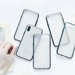 TPU PC White /Transparent Back Covers  for UV Printing for One Plus Six Model