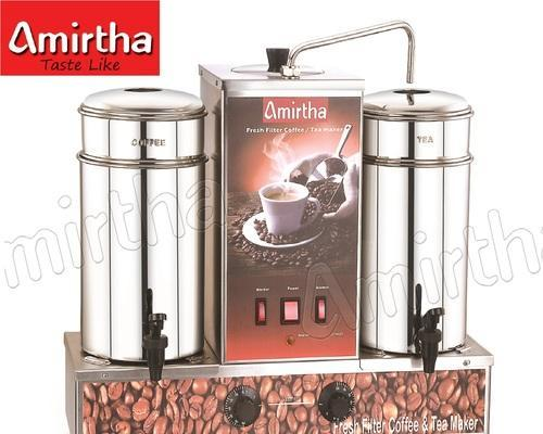 Manual Electric Filter Coffee Machine Amirtha Coffee