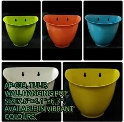 Tulip Wall Hanging Pot