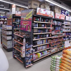 Departmental Store Rack, 5 Shelves