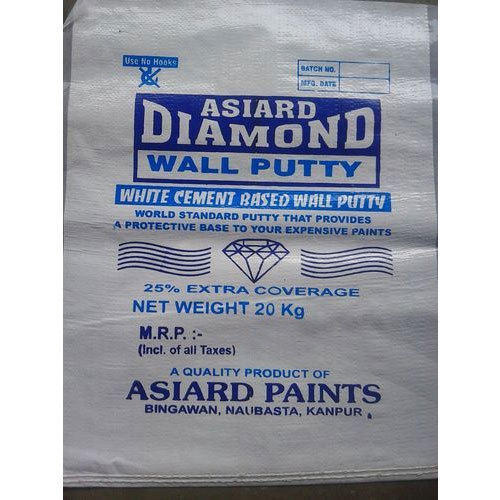 20 Kg White Cement Based Wall Putty