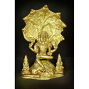 Dakshina Murti Brass Statue, For Interior Decor