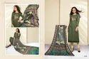 Round Neck Masakali Salwar Suit Fabric