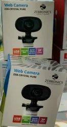 Black Webcam Zebronics