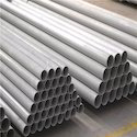 Silver Seamless Steel Pipes