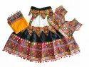 Embroidered Ghagra Choli - Kids Lehenga Choli - 36 Size - 13 to 15 Year