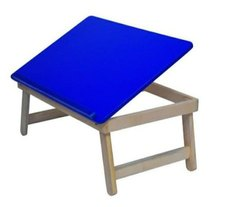 Blue Laptop Table