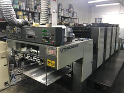 1997 Komori Lithrone 428 with SAPC