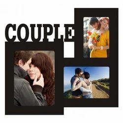 MDF Couple Photo Frame