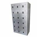 Crca Sheet Pad Loc 18 Door Industrial Locker, Model Name/number: Ind-18, Size: 1830 H X 915 W X 450 D Mm