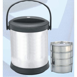 Mehar Stainless Steel Insulated Lunch Carrier