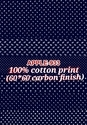 Carbon Finish Cotton Printed Fabric