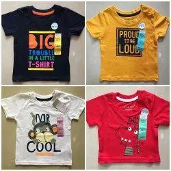 Casual Wear Half Sleeves Kids T-shirt
