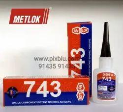 Metlok 743 Metlok Cyanoacrylate 743, Tube, 20 ml