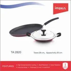 Non Stick Tawa Pan with Appachatty - 28 cm