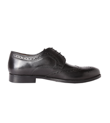 Van Heusen Black Formal Shoes VHMMS01029