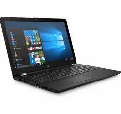 Black HP Dual Core A9 Laptop, Screen Size: 15.6 Inch, 4gb Ddr4