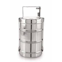 Stainless Steel Lunch Box, 3