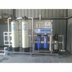 RO Plant 1000 LPH in FRP Semi Automatic