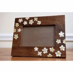 Brown Crafted Wooden Photo Frames