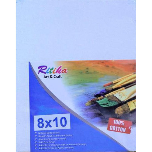 Ritika 8X10 Inch Canvas Board