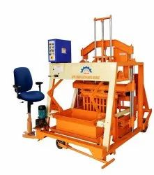 Auto Feeder Type Double Stroke Solid Brick Making Machine