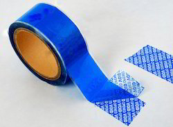 Security Void Printed Tape