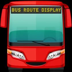 Rectangle Bus Route Moving LED Display