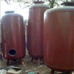 MS Horizontal Pressure Tank
