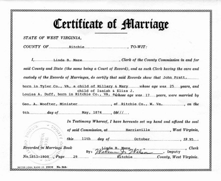 Marriage Certificate Services Marriage Certificate