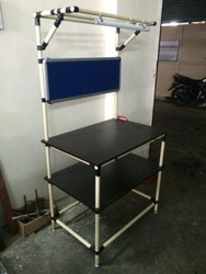 Pipe & Joints Assmebly Table Adjustable Workbench, For Assembly, Inspection, Size: 900x600