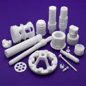 White 150 Bar Ptfe Moulded & Machined Finished Products