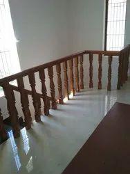 Balcony Wooden Handrails